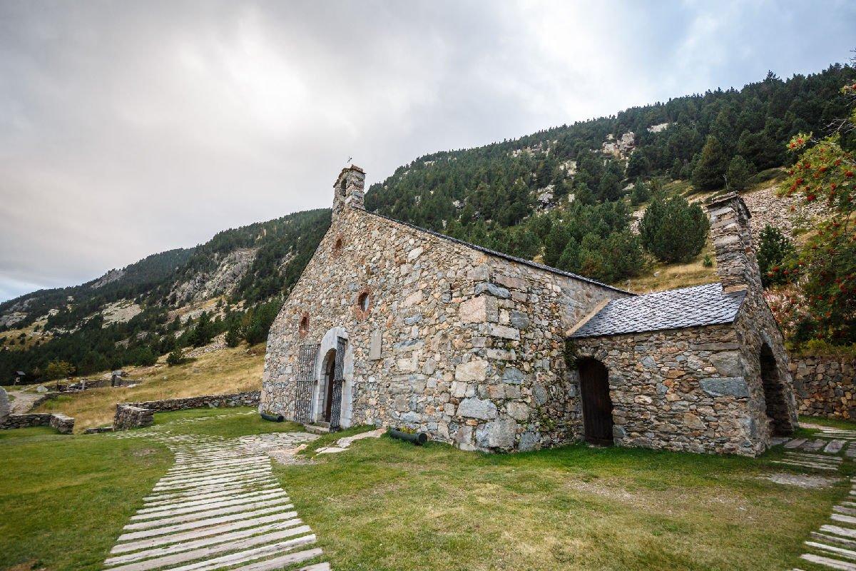 Ermita de San Gil in Vall de Núria, chiesetta del XVII secolo