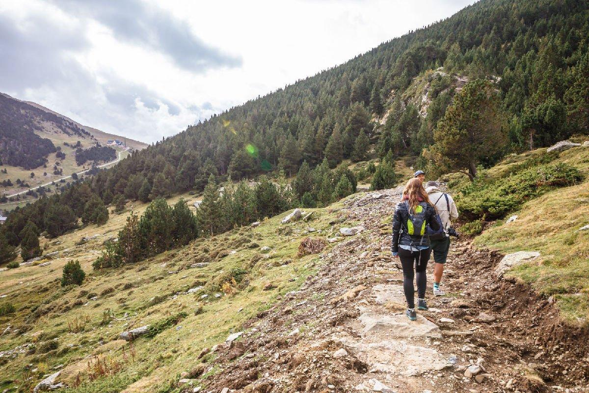 Trekking in Vall de Núria