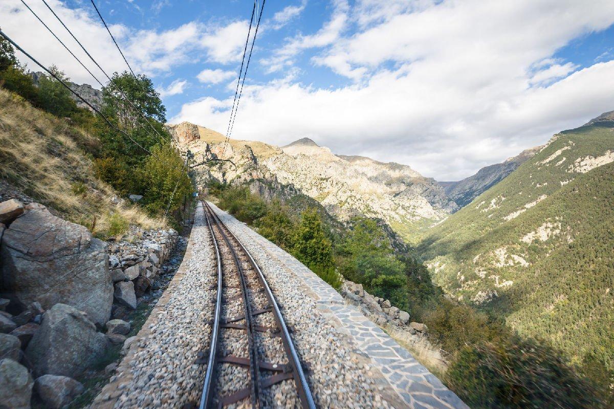 Ferrovia per la Vall de Núria