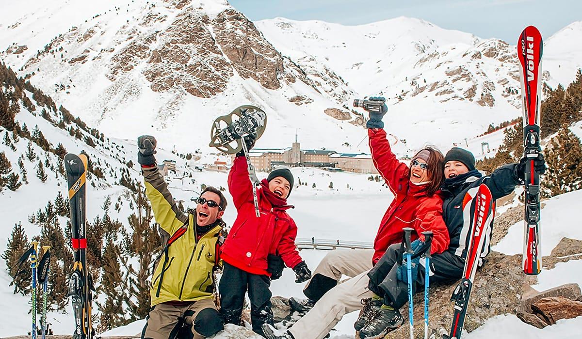 Valle di Núria sci in famiglia