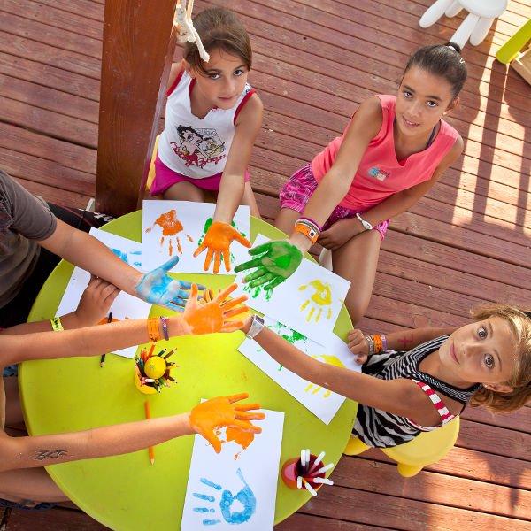 Bambini gioco miniclub Calafell