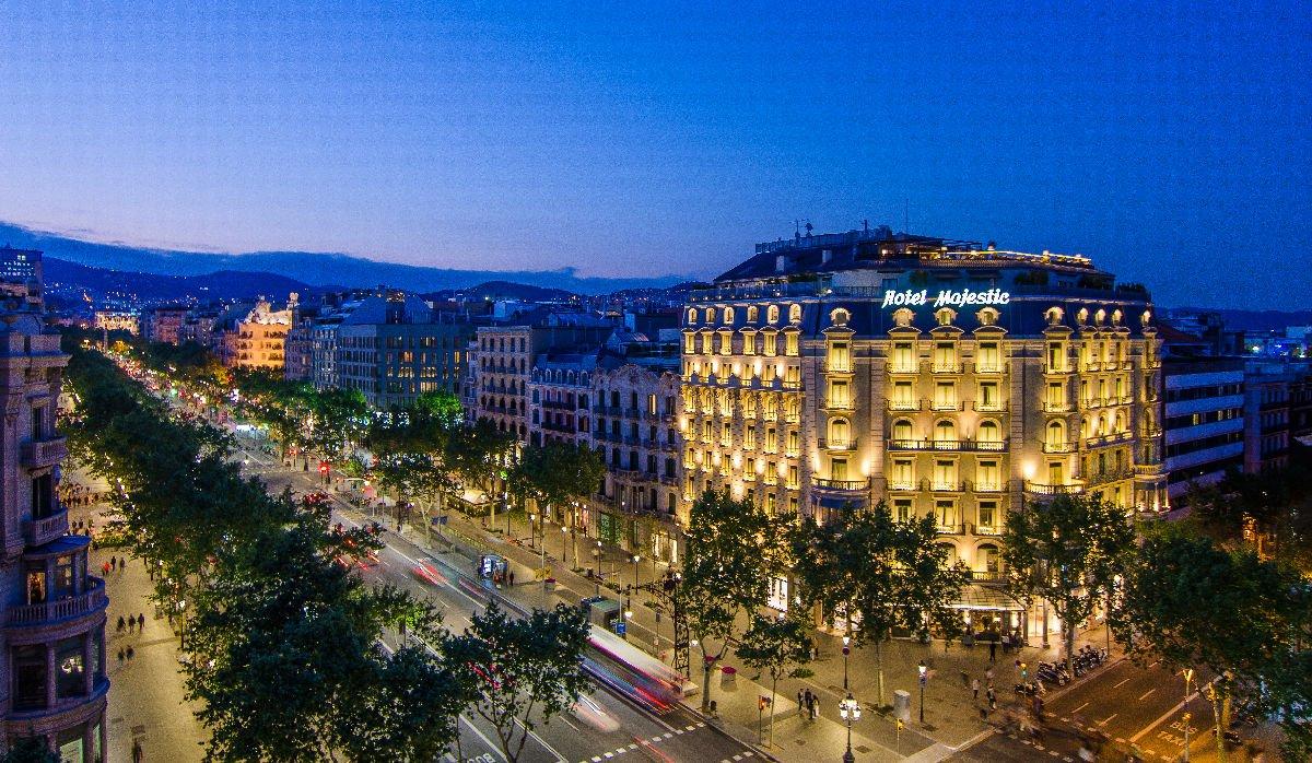 Hotel Majestic Passeig de Gràcia Barcellona