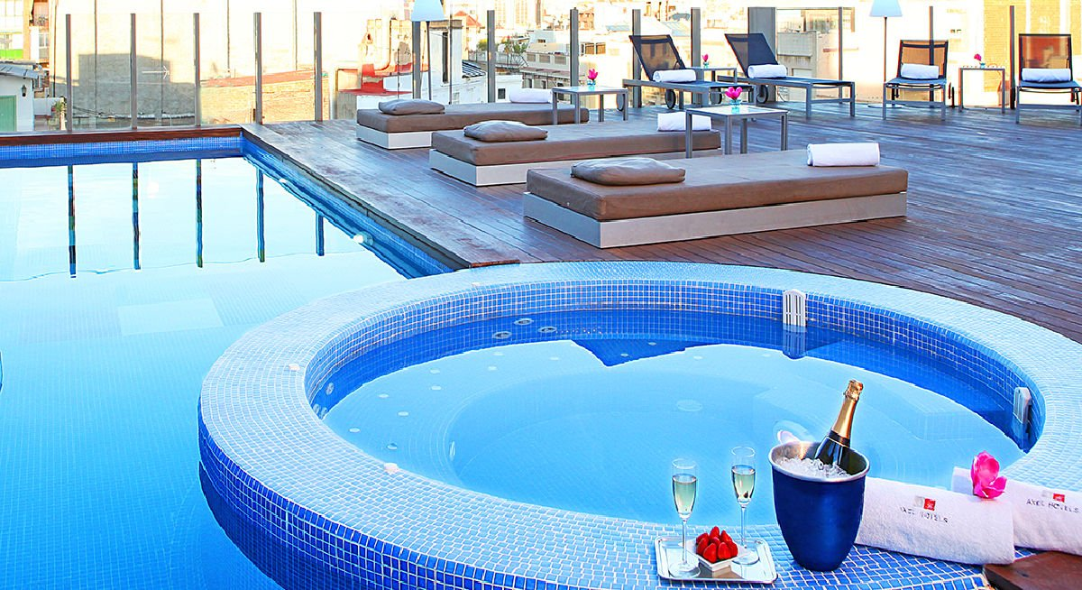 Sky Bar Axel Hotel Barcelona