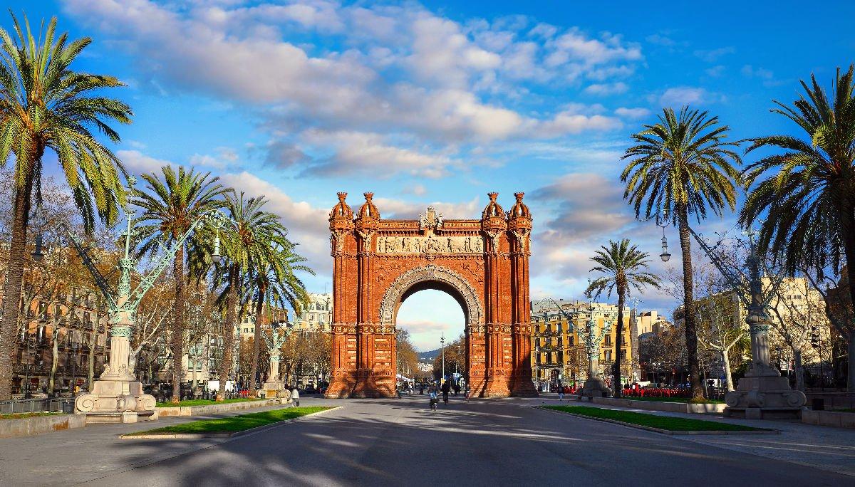 Parc de la Ciutadella Arc de Triomf