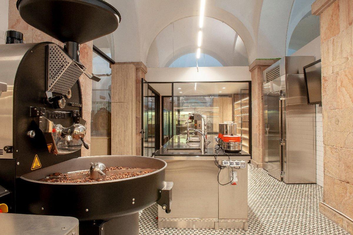 Museo del Cioccolato interno