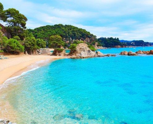 Migliori spiagge della Catalunya: Cala Treumal a Lloret de Mar