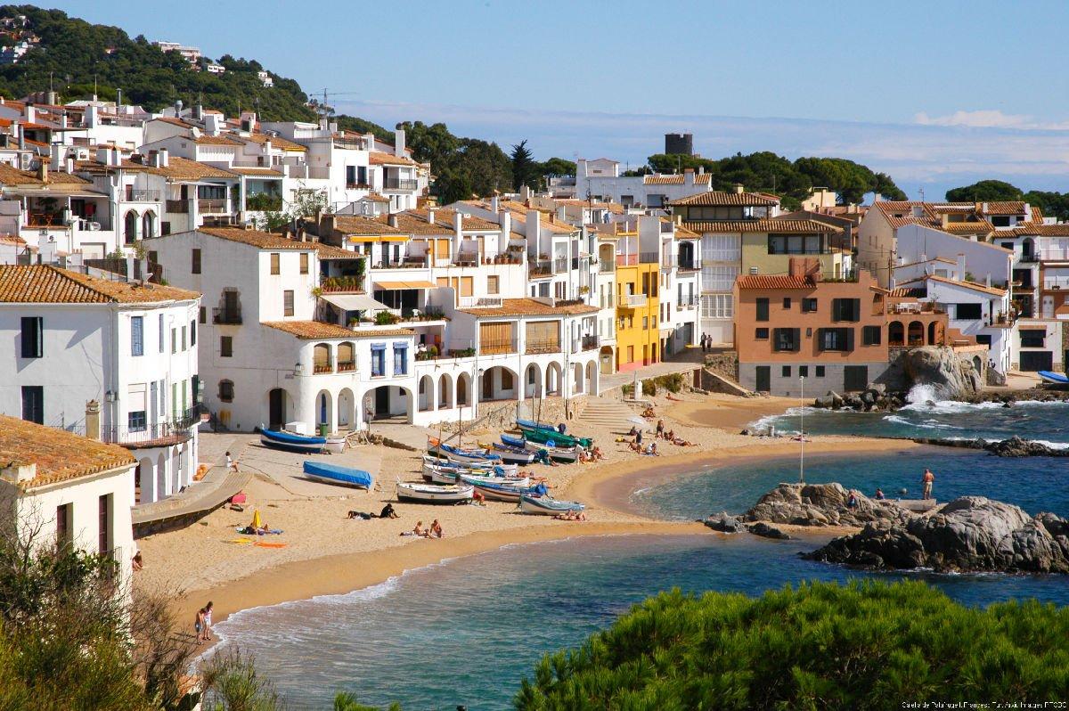 Calella de Palafrugell spiaggia