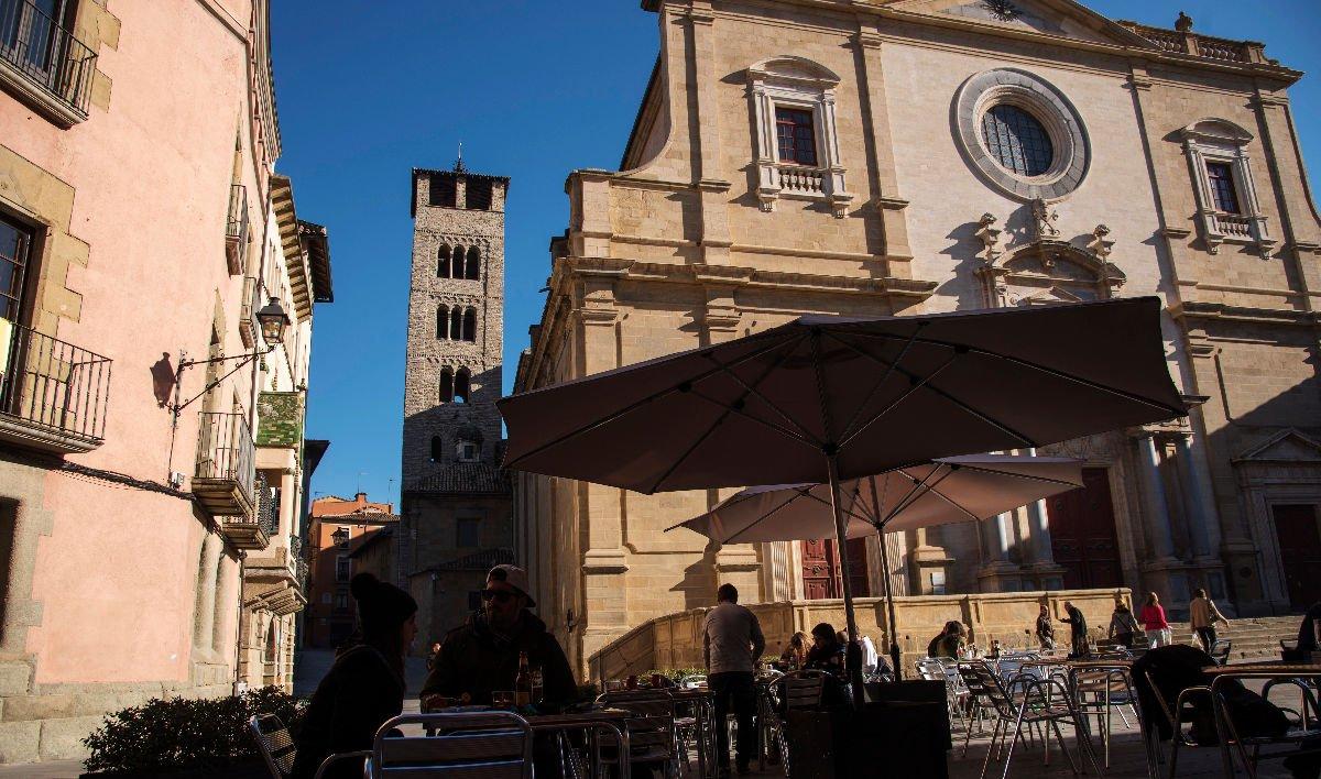 Vic Sant Pere campanile