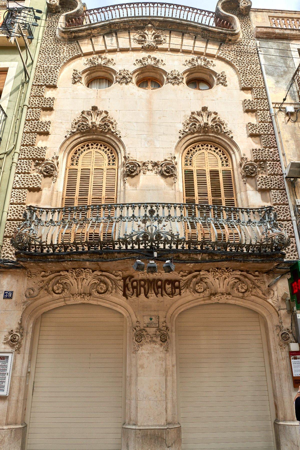 Casa modernista Guasch i Estalella Vilafranca del Penedès