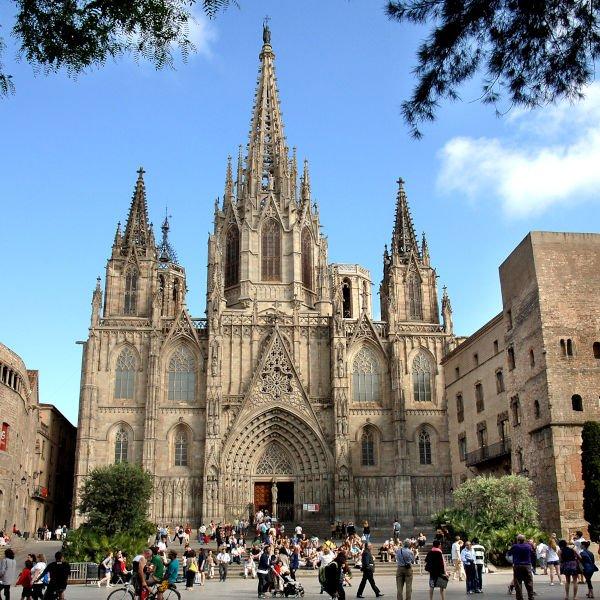 Cattedrale di Barcellona esterno