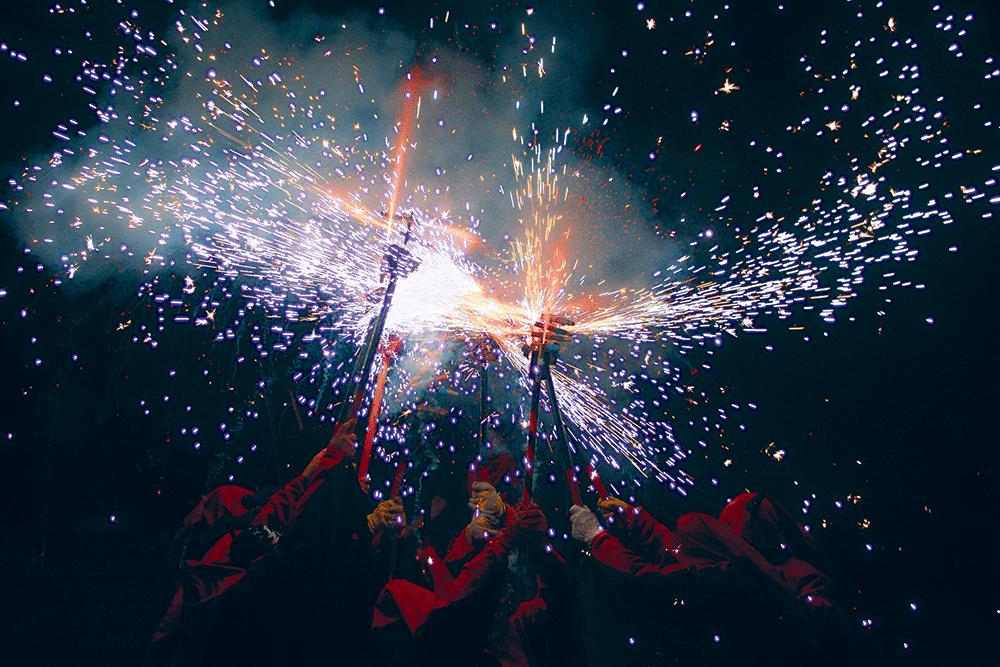 Tradizioni e Festival in Catalunya, Correfoc