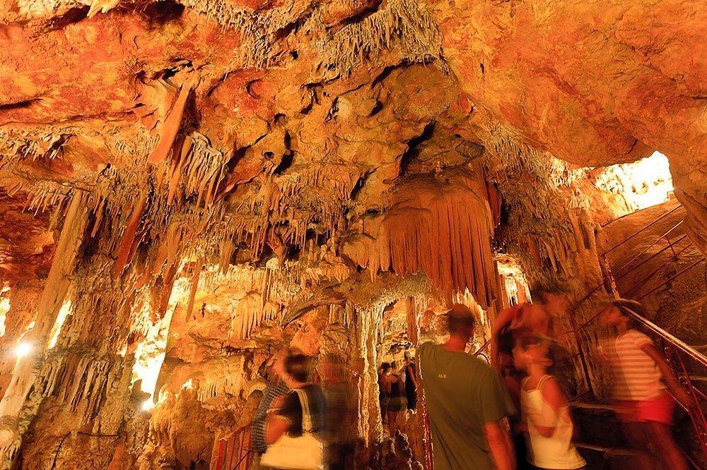 Grotte Meravelles formazioni rocciose