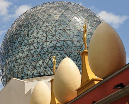 Teatro-Museo Dalí, la cupola