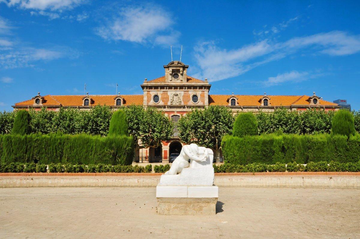 Statua Desconsol Parc de la Ciutadella