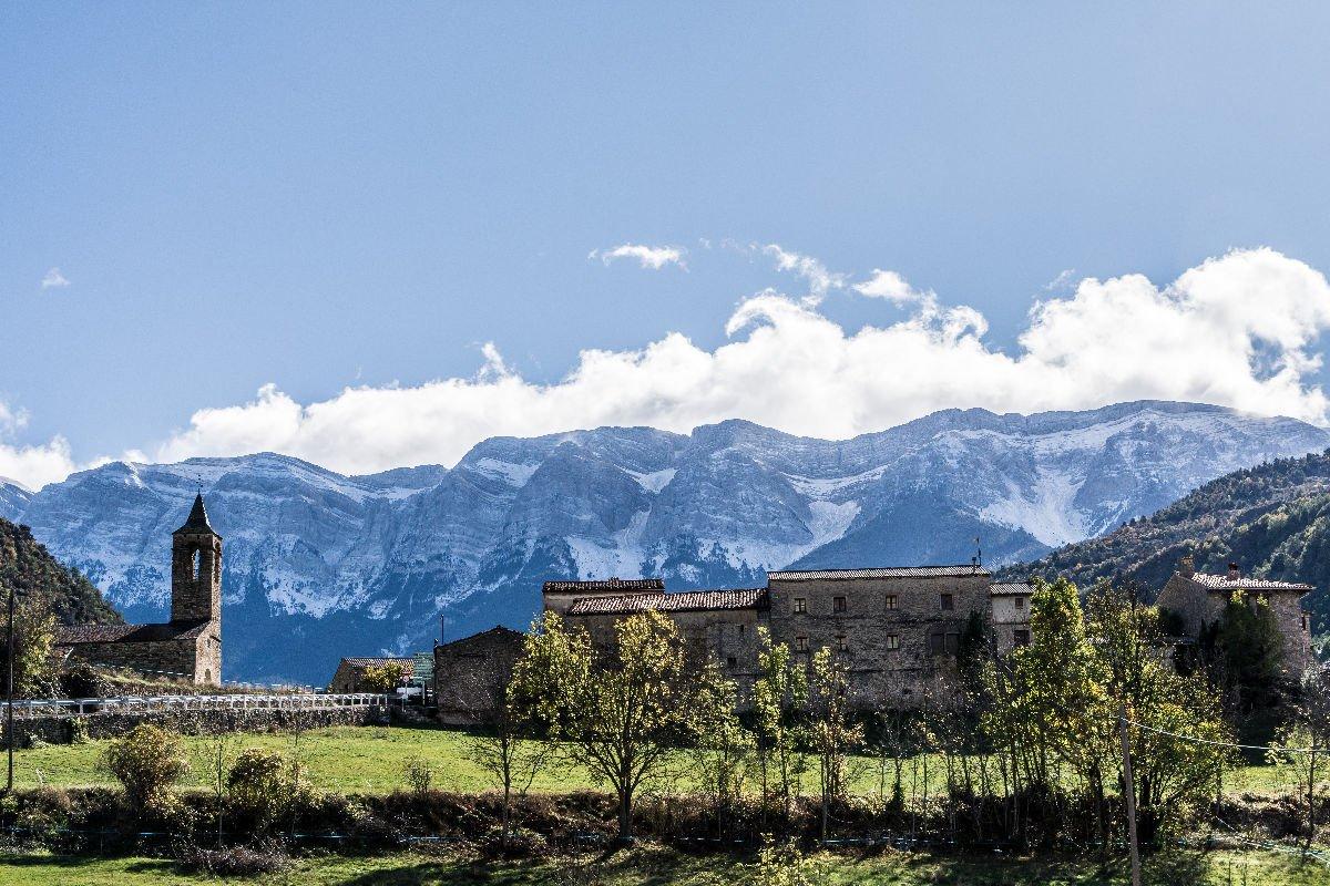 Arsèguel nei Pirinei