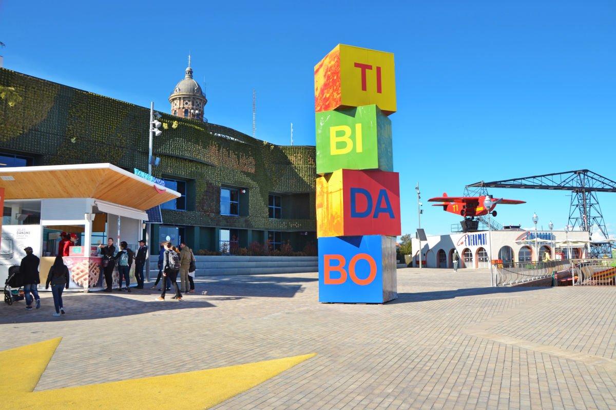 L'entrata del Tibidabo