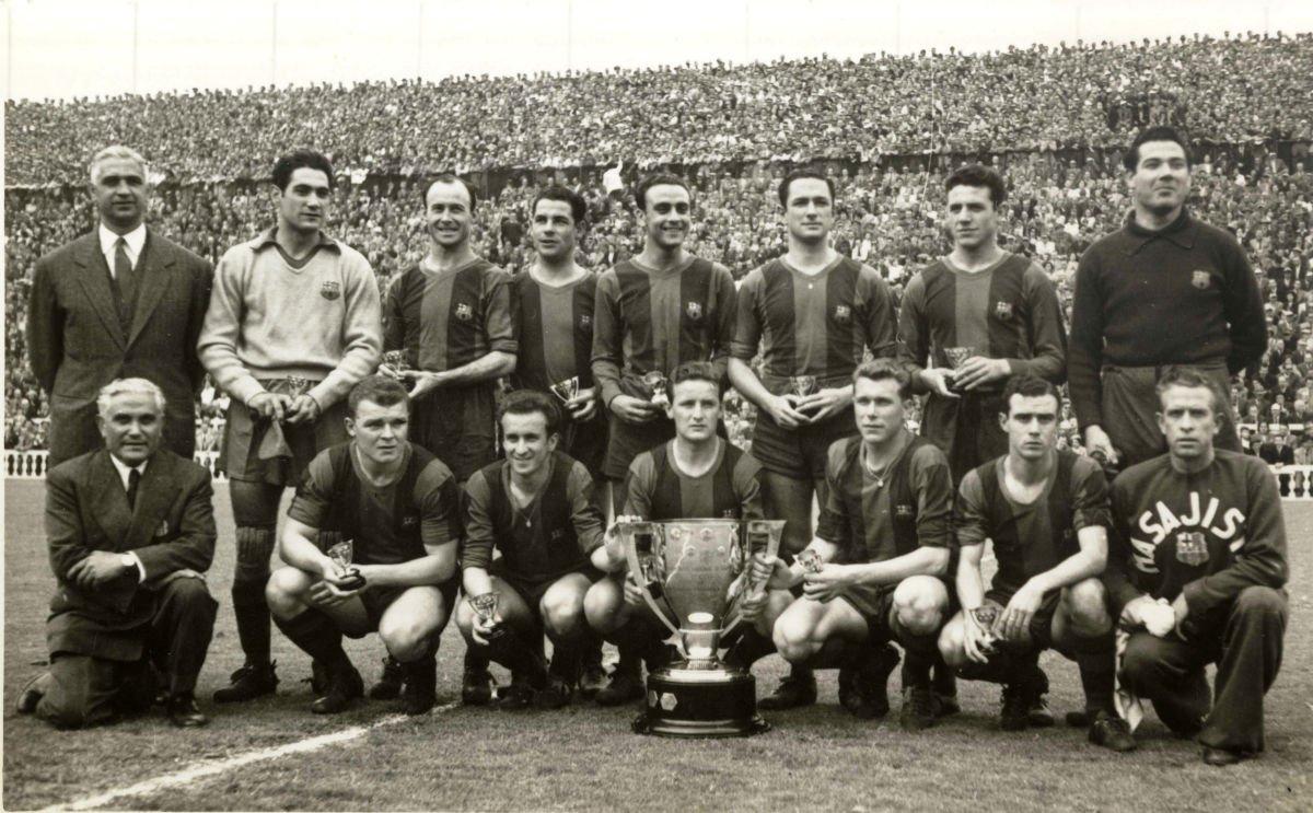Il Barça delle Cinque Coppe