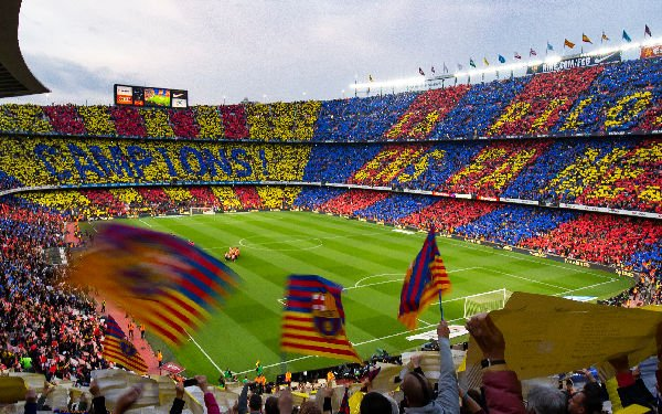 Lo stadio del Barça