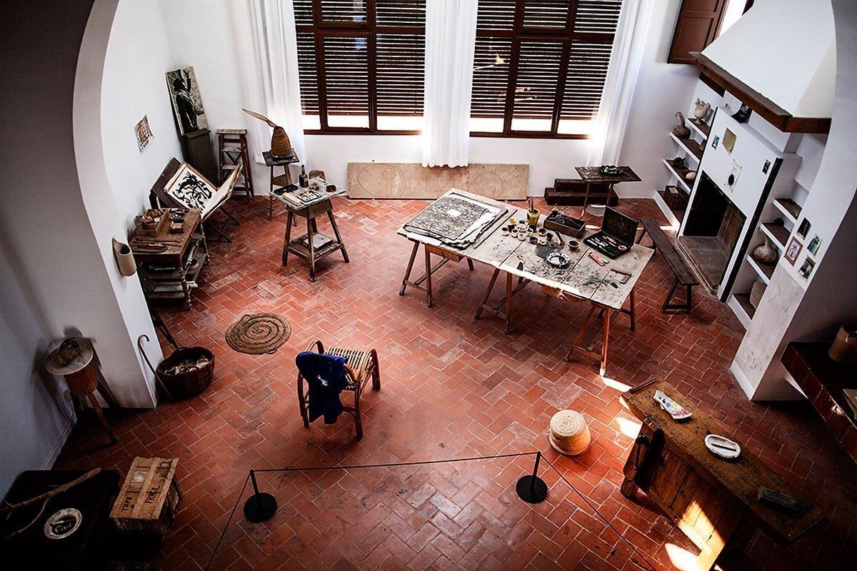 Lo studio di Joan Miró
