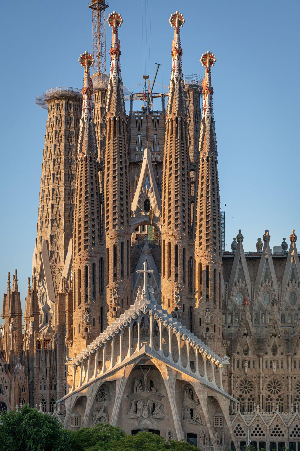 Facciata della Passione della Sagrada Família