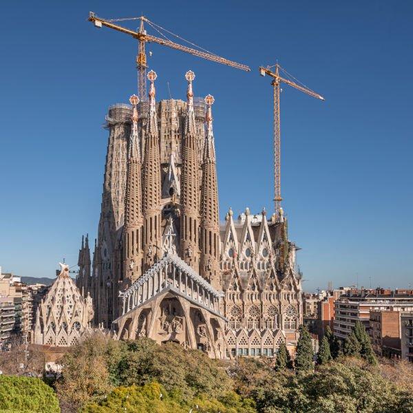 Sagrada Família, facciata della Passione