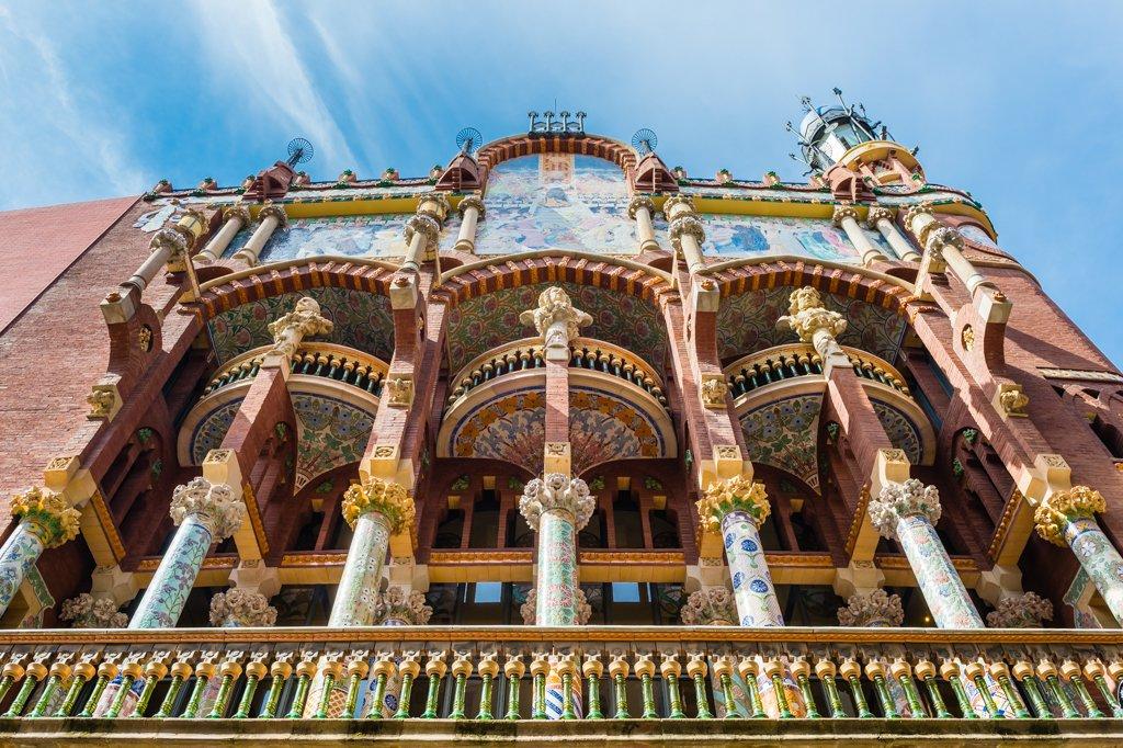 Palau de la Música Catalana esterno
