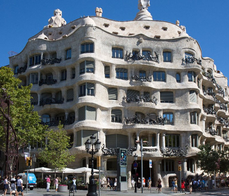 Casa Milà facciata