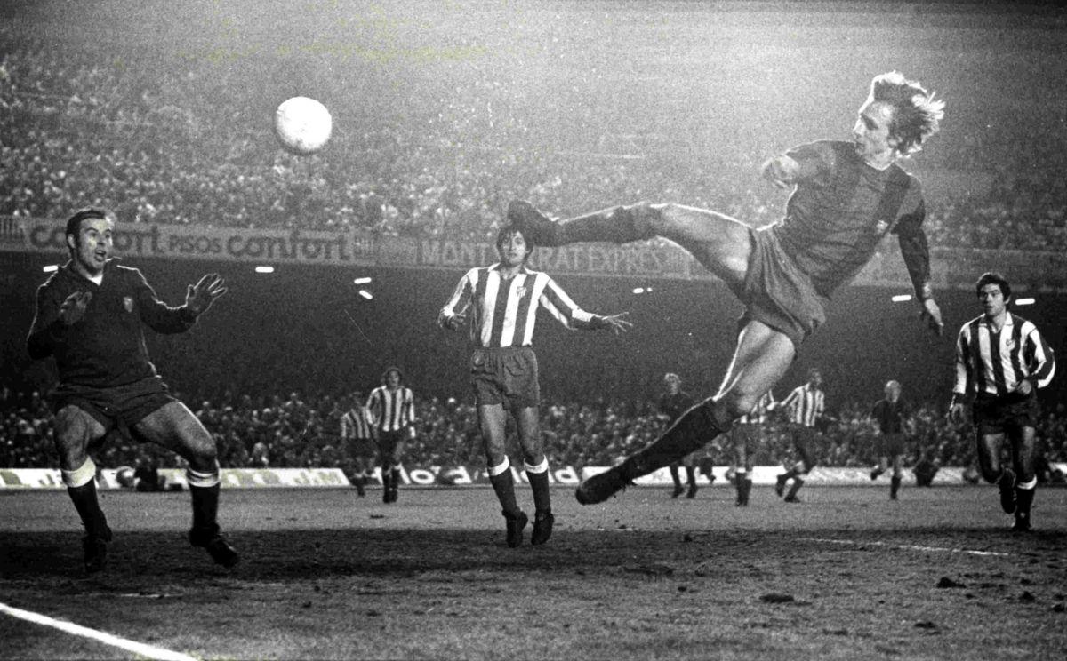 Johan Cruyff al Barça nel 1973
