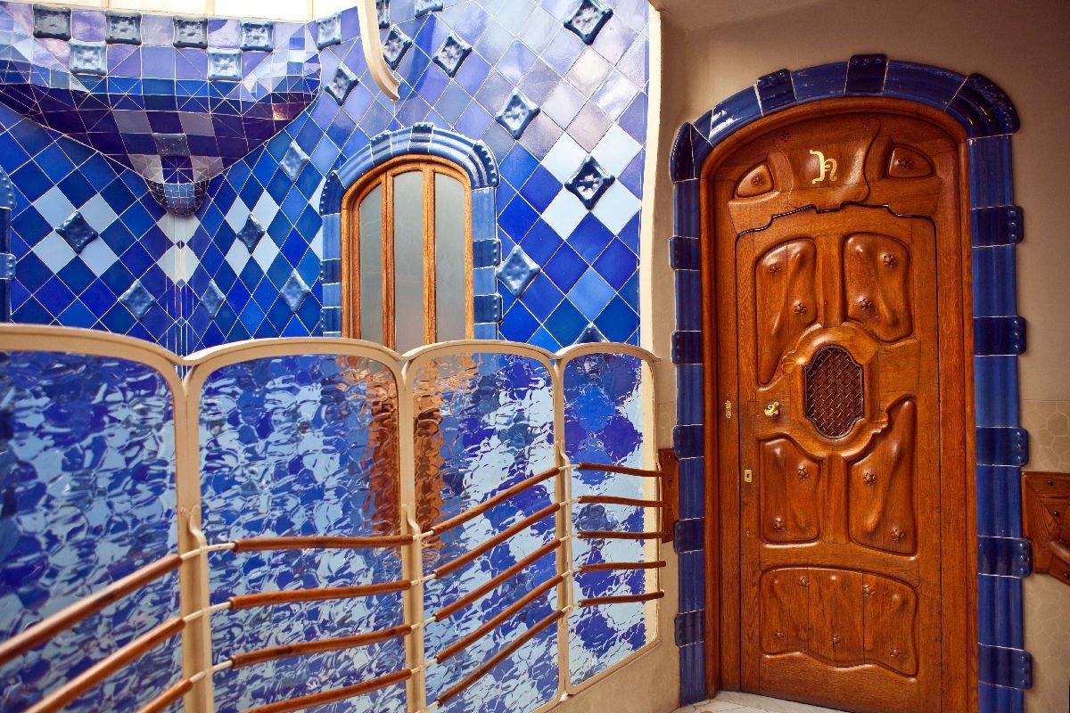All'interno di Casa Batlló