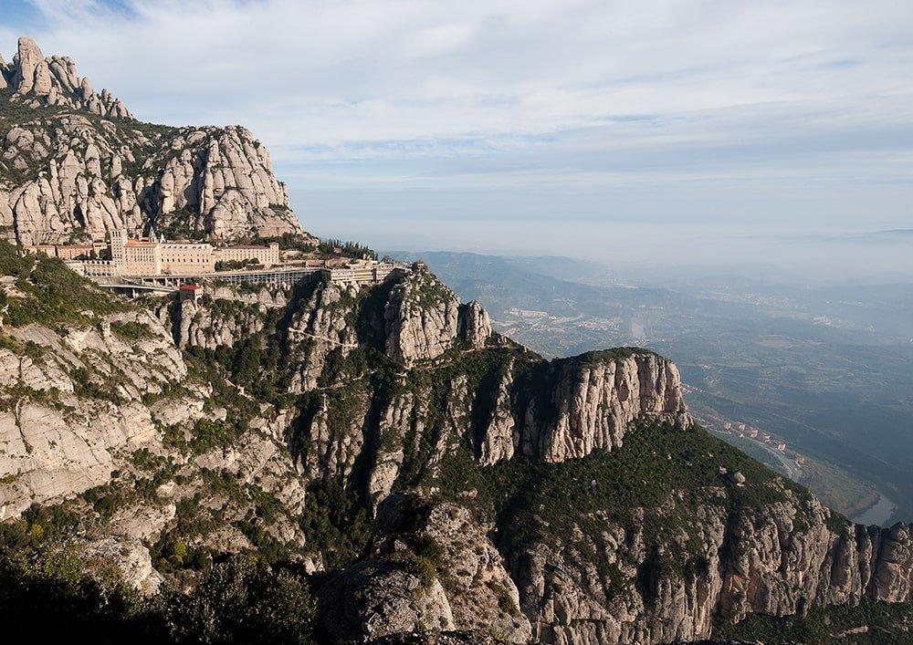 Monastero Montserrat veduta