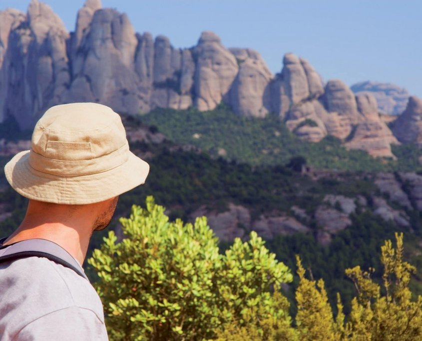 Ecoturismo in Catalunya: guglie di Montserrat