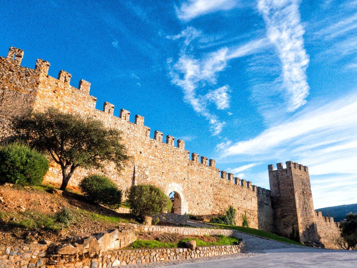 Montblanc mura antiche
