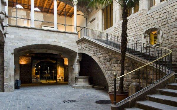 Museo Picasso entrata