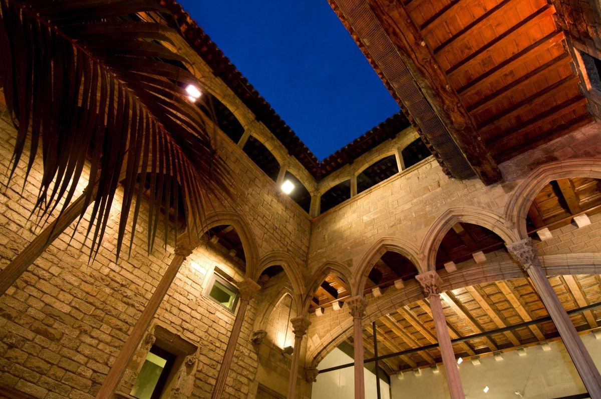Cortile del Museo Picasso presso Palazzo Berenguer d'Aguilar