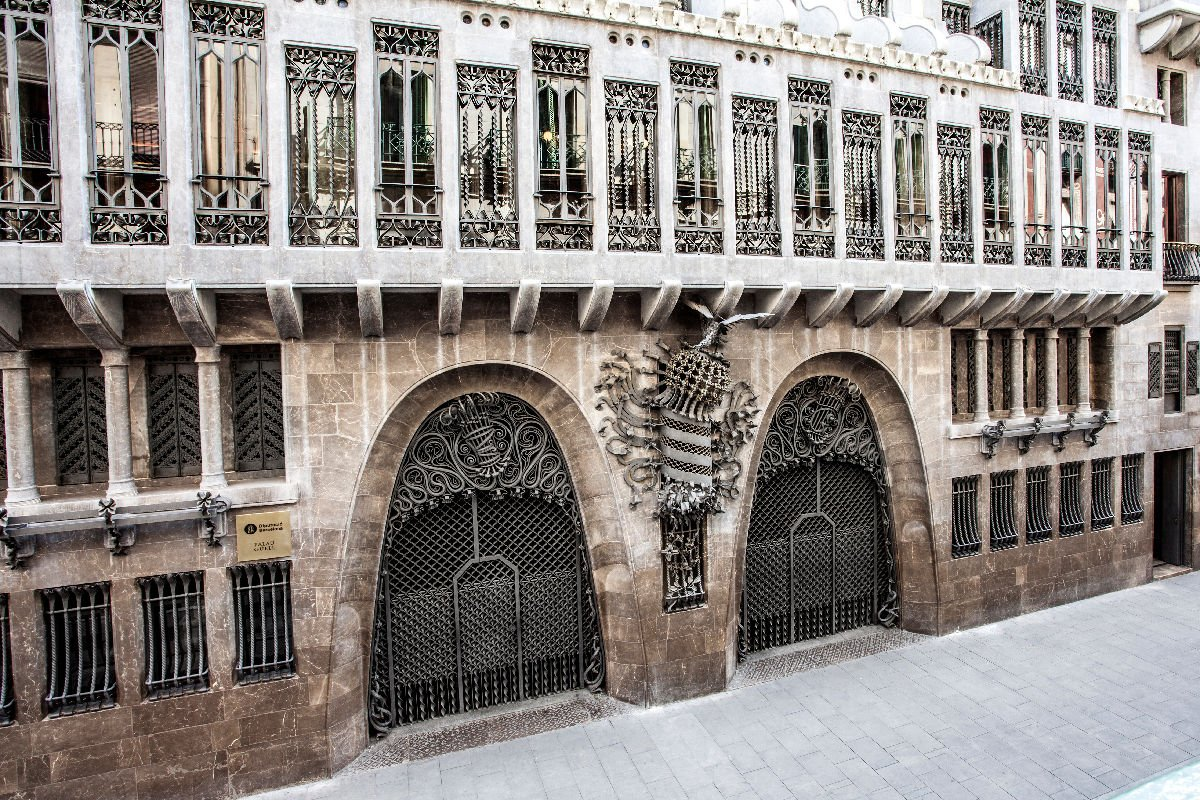 Palau Güell facciata