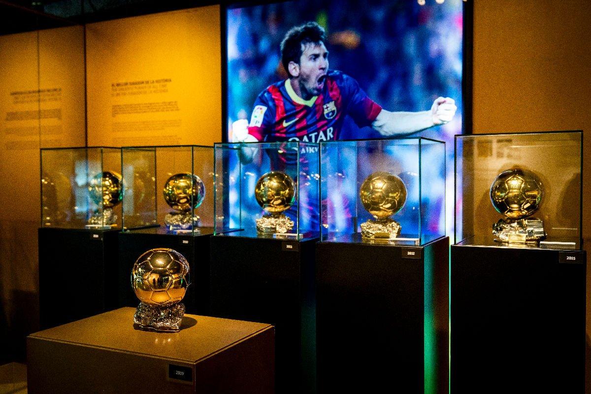 Museo Camp Nou palloni d'oro
