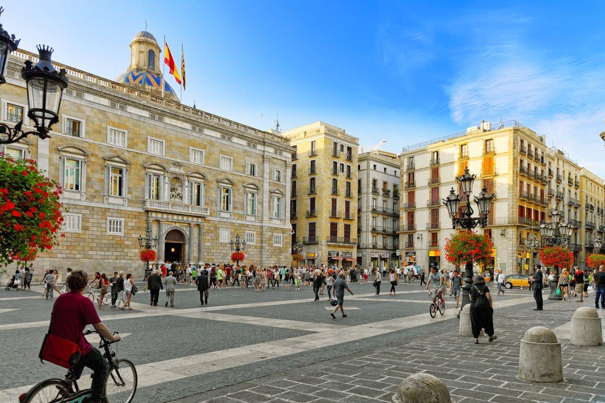 Barcellona, Plaça Sant Jaume