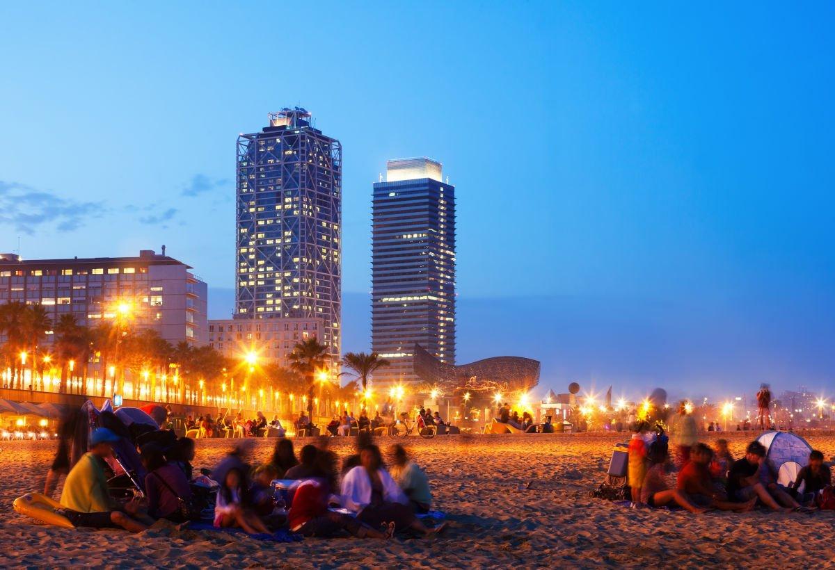 Barceloneta, spiaggia Sorromostro