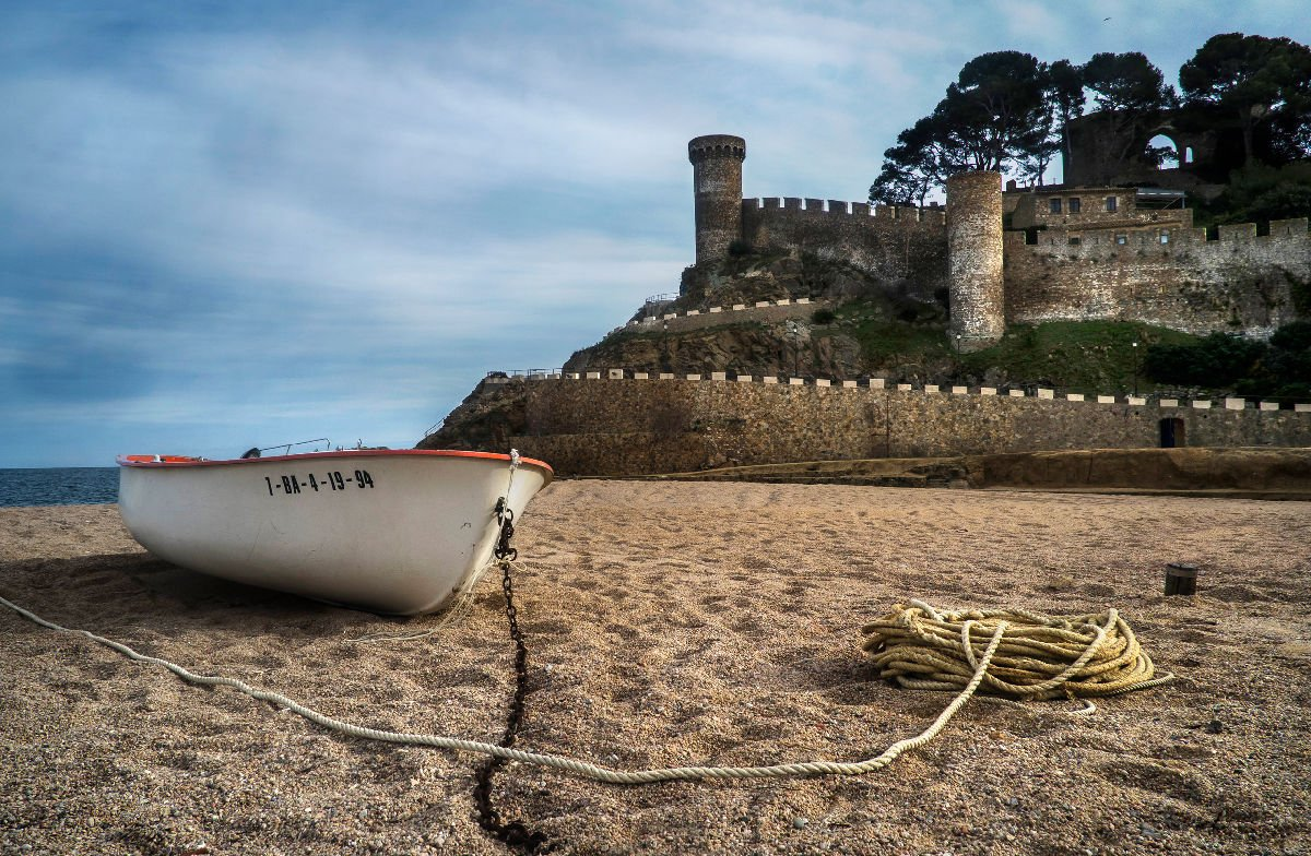 Tossa de Mar mura
