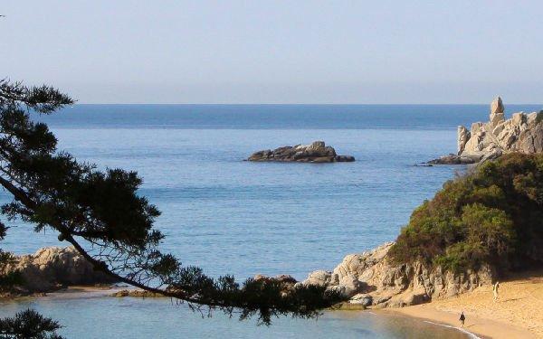 Spiaggia di Santa Cristina a Lloret de Mar
