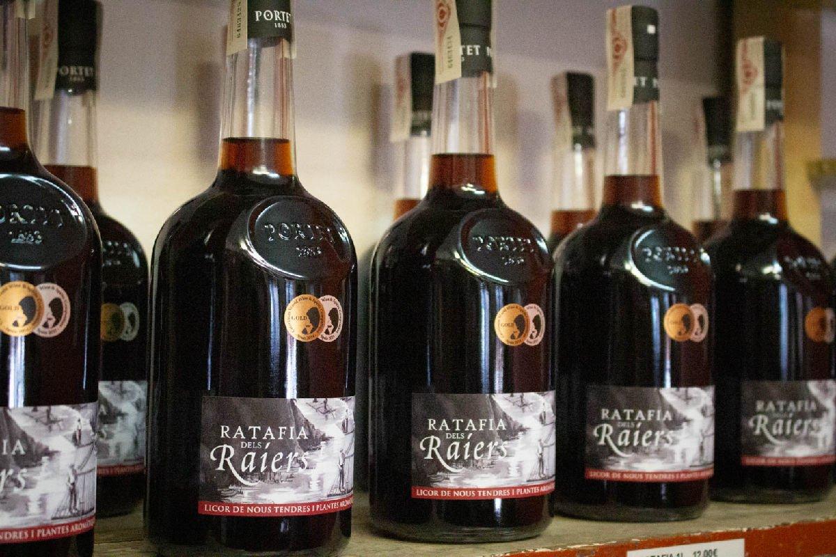 Ratafia dels Raiers bottiglie