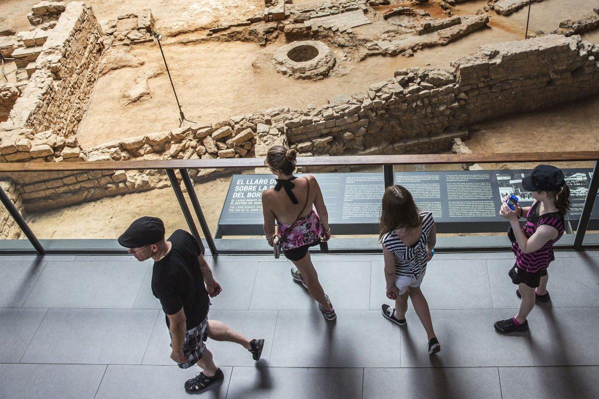 Resti archeologici al CCM El Born