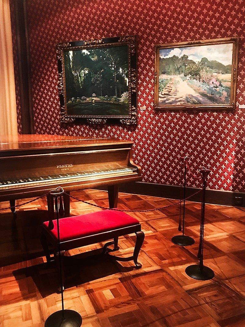 Dentro la casa museo di Pau Casals
