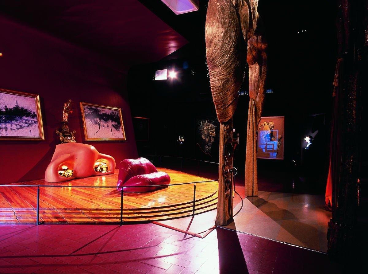 Sala Mae West al Teatro Museo Dalí