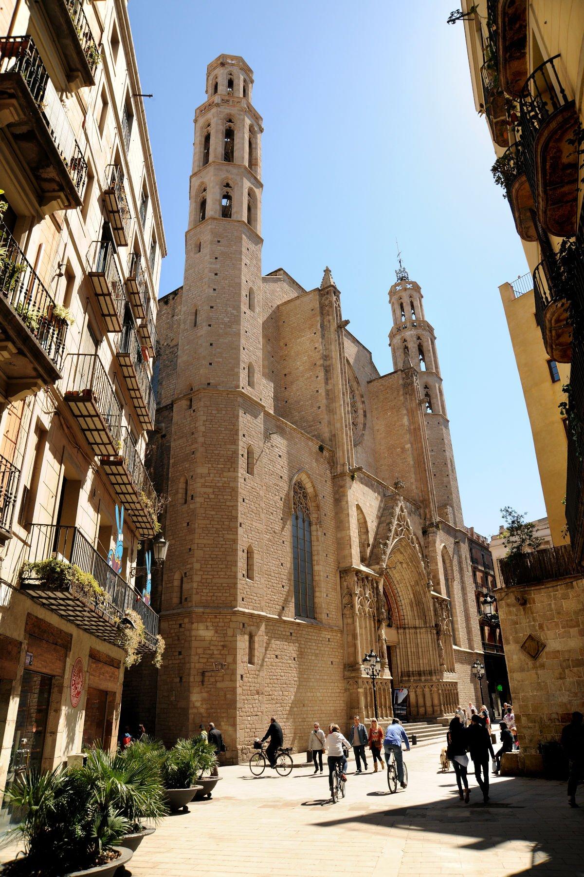 Basilica di Santa Maria del mar esterno