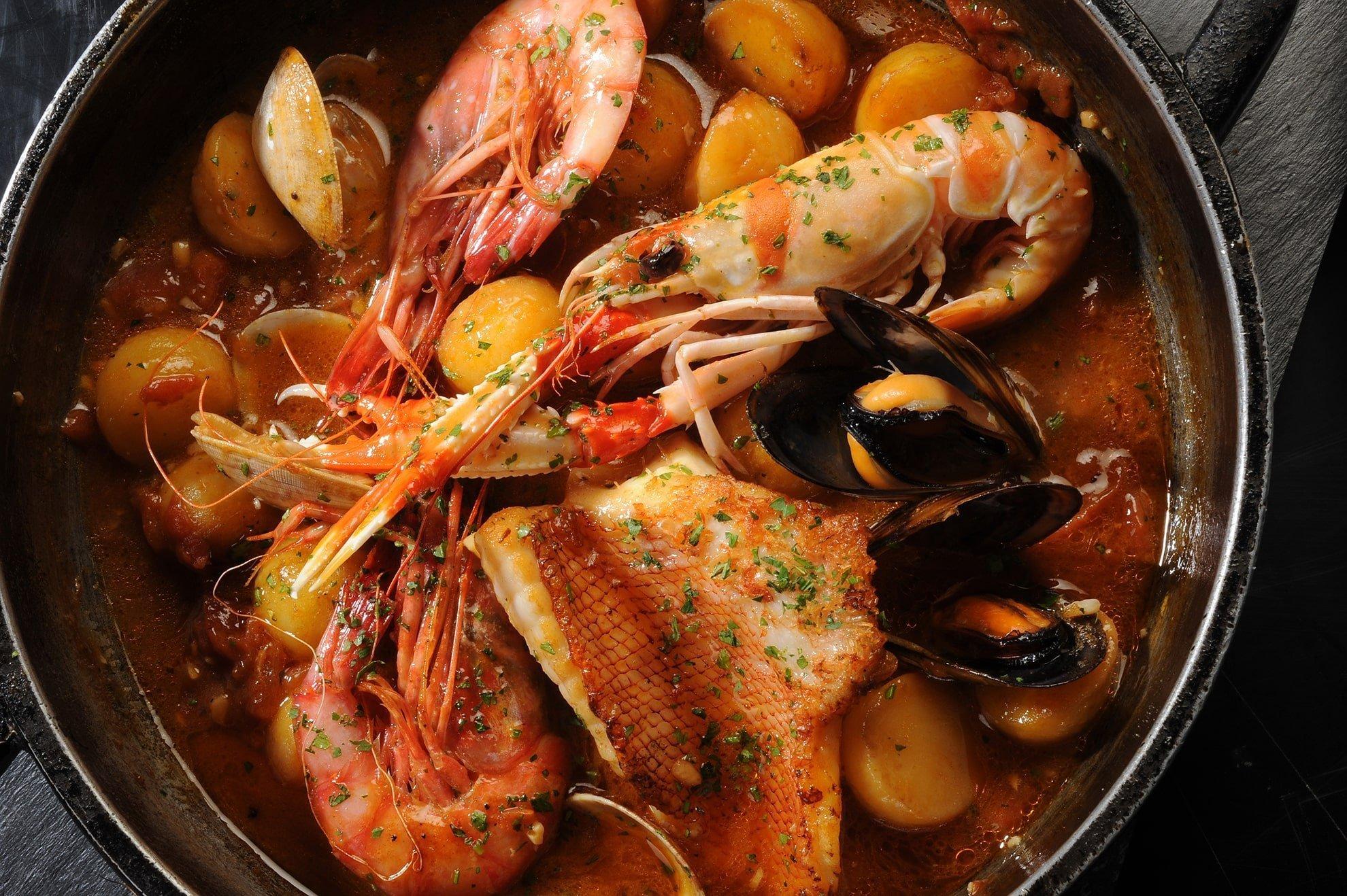 Suquet de peix da servire