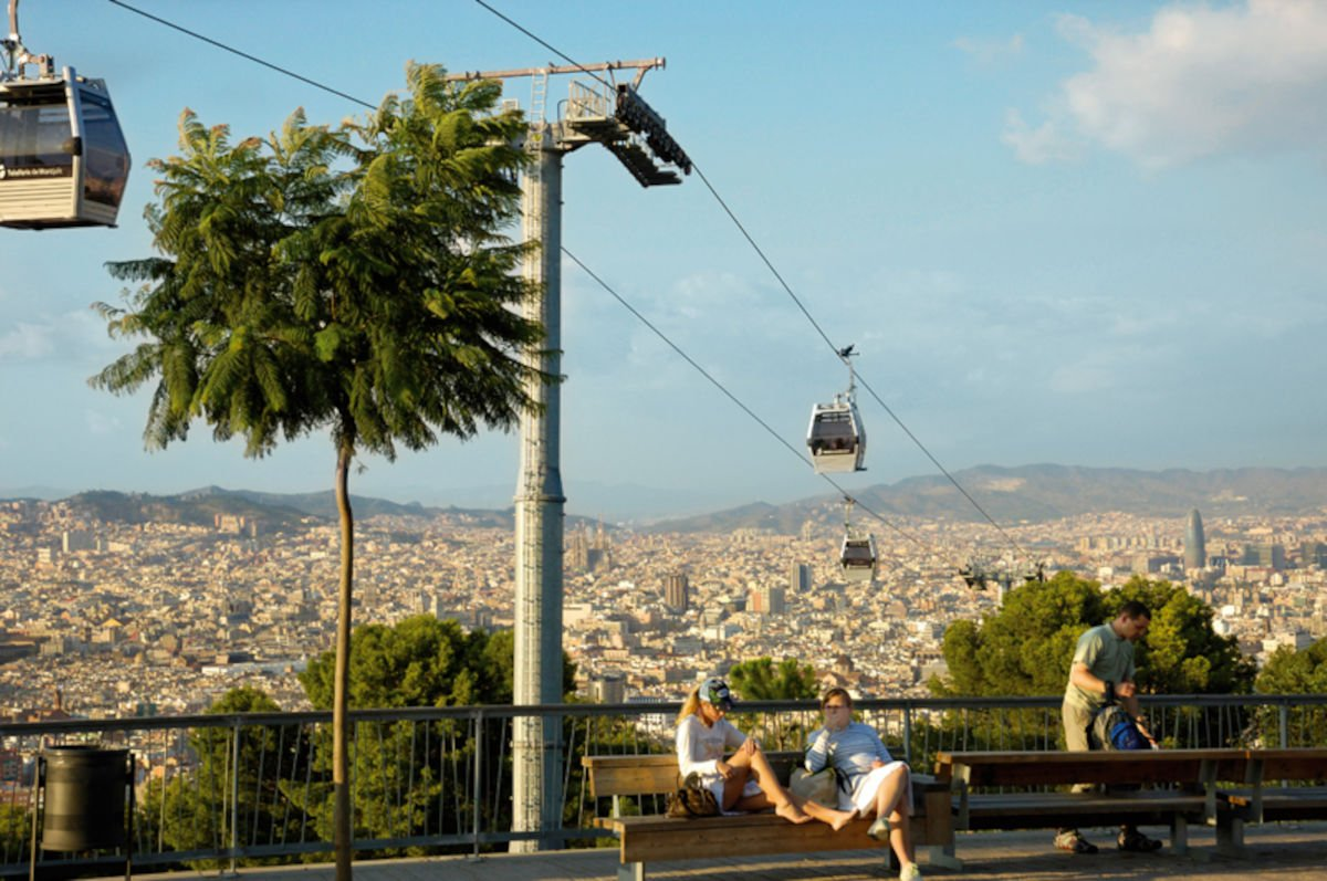 La teleferica di Montjuïc