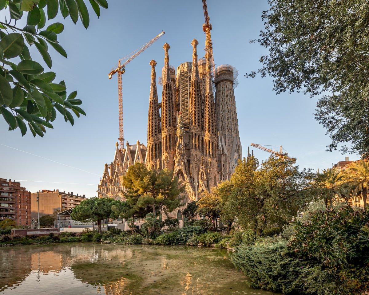 L'esterno della Sagrada Família