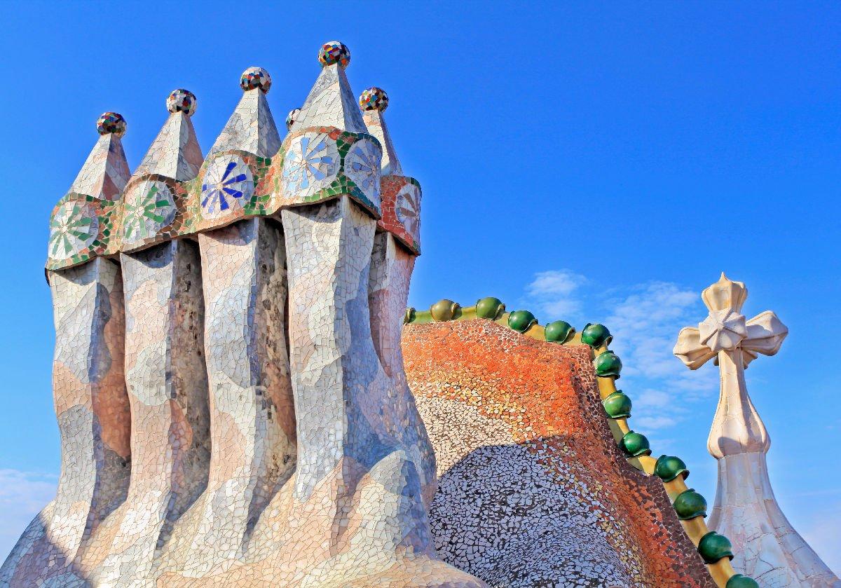 Casa Batlló comignoli