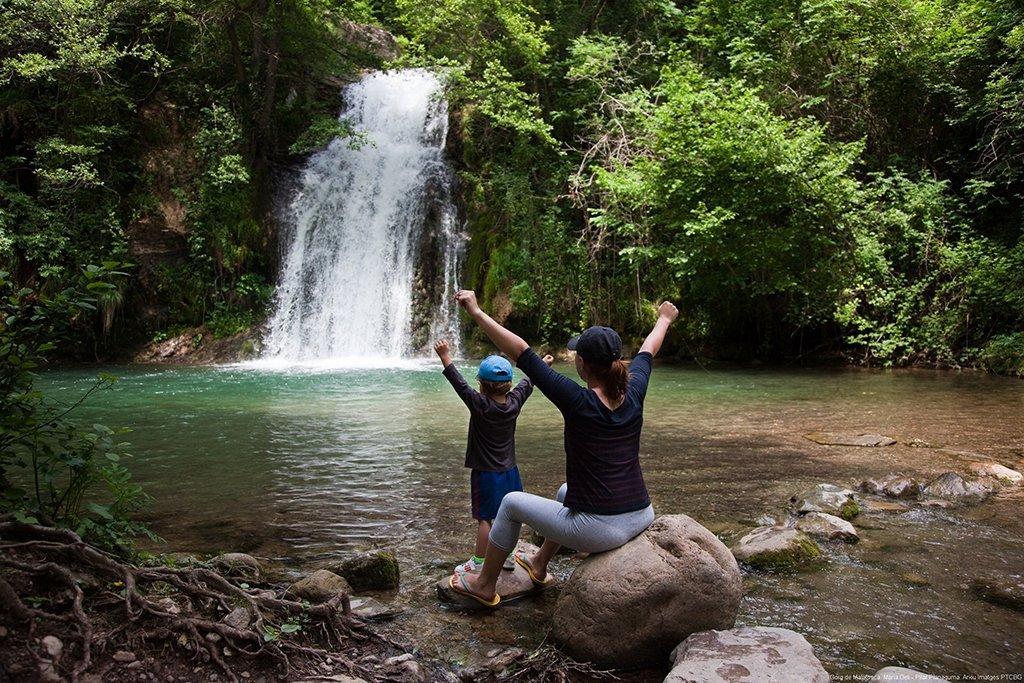 Vie verdi Catalunya parco naturale